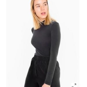 COPY - American Apparel brushed jersey turtleneck